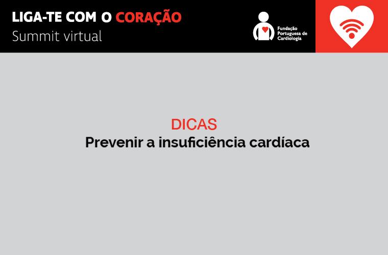 Prevenir a insuficiência cardíaca
